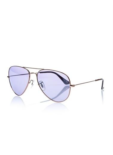 Optoline Opc 17019M 28 Damla Kahv  Gövde Polarize Cam Kadın Güneş Gözlüğü Mavi